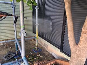 高崎市東町 セメント瓦とサイディング塗装 洗浄
