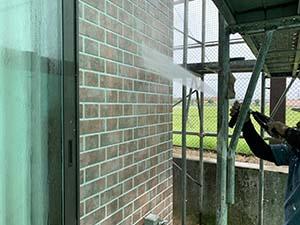 伊勢崎市茂呂町 屋根 外壁洗浄