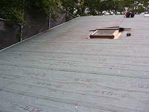 別荘 屋根葺き替え