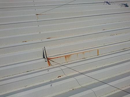 前橋市 マンション セッパン屋根塗装 サビ