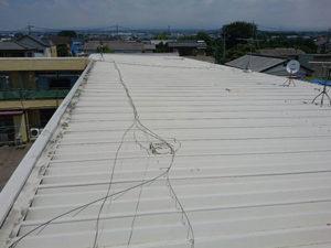 前橋市 マンション セッパン屋根塗装前