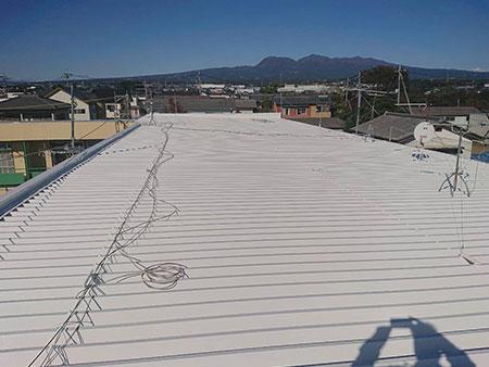 前橋市セッパン屋根塗装後