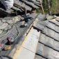 前橋市嶺町I様 雨漏り修理 屋根瓦の積み直し