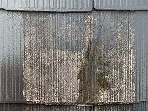 コロニアル屋根クラック補修後
