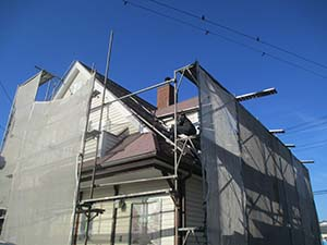 アスファルトシングル屋根塗装