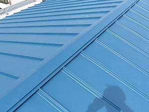 伊勢崎市 屋根カバー工法 完成