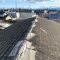 伊勢崎市 事務所屋根カバー工事(コロニアルから立葺きガルバリウム鋼板)