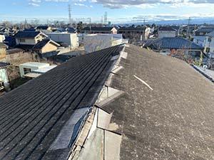 伊勢崎市 屋根カバー工法
