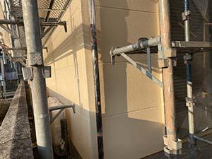 伊勢崎市富塚町 外壁上塗り