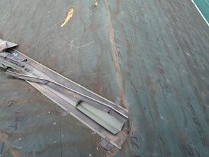 前橋市 コロニアル葺き替え 既存屋根材撤去