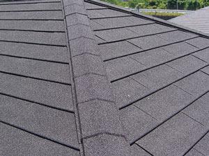 屋根カバー工法 棟板金