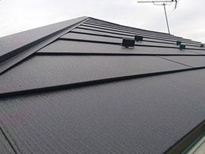 屋根をふき替える美観向上