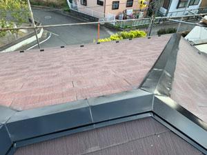 前橋市 屋根鉄部塗装