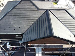 前橋市 屋根 シーガード工法 完工