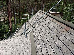 別荘屋根シーガード工法