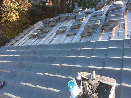 屋根葺き直し 瓦葺き