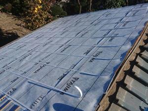 屋根葺き直し ルーフィング