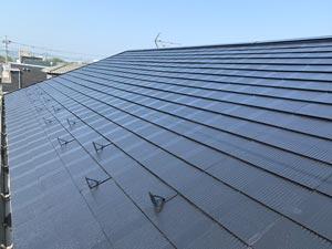 コロニアル屋根塗装
