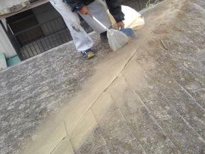 棟板金交換 清掃