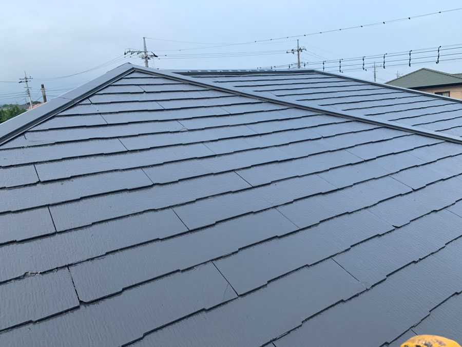富士見町 屋根塗装 コロニアル