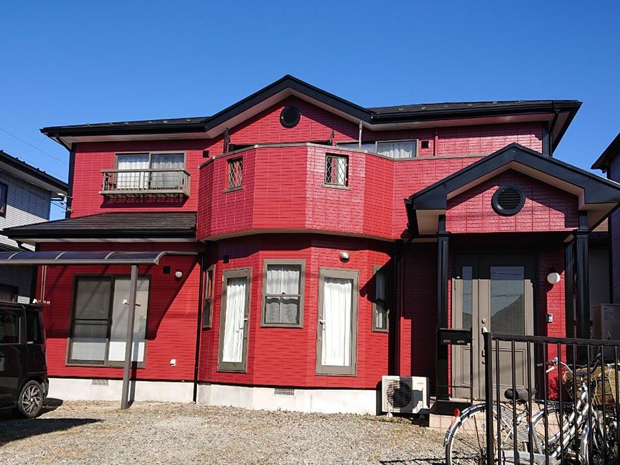 吉岡町 ALC(ヘーベルライト)外壁塗装 施工事例