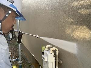 前橋市富士見町 外壁塗装 高圧洗浄