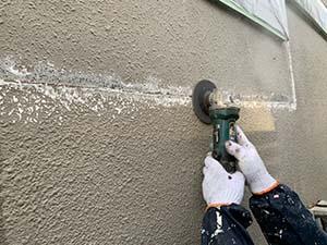 モルタル外壁補修