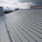 伊勢崎市宮子町 ガルバリウム鋼板の屋根塗装