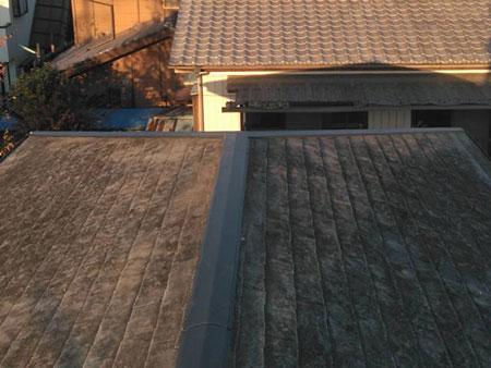 屋根 棟板金交換工事